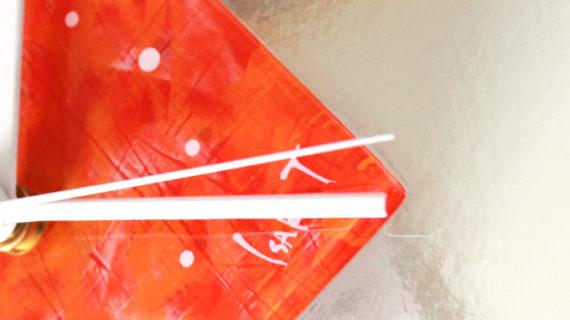 新作「ガラスアート時計」をオンラインショップにアップしました!