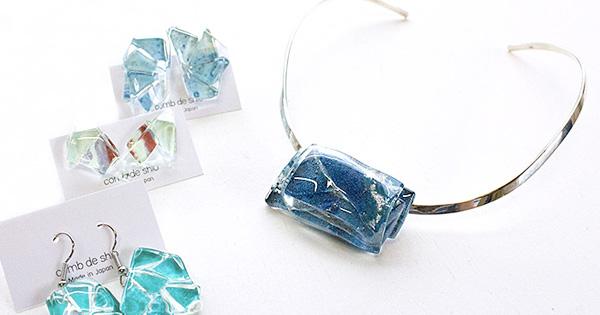 【ガラス作家ISAKOの制作日記】 「コムデシオガラス」と呼んで、、、