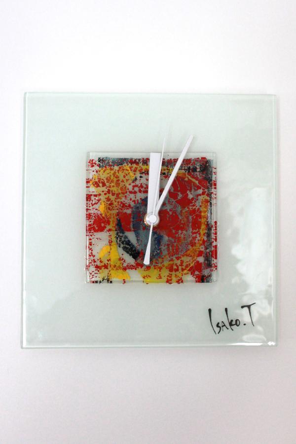 ガラスの時計