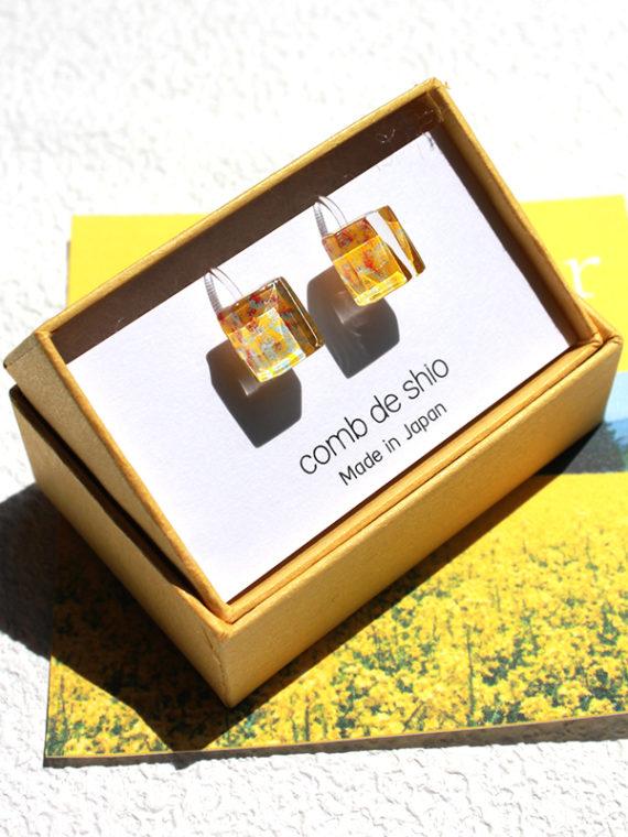 伊勢志摩シリーズ ガラスのイヤリング
