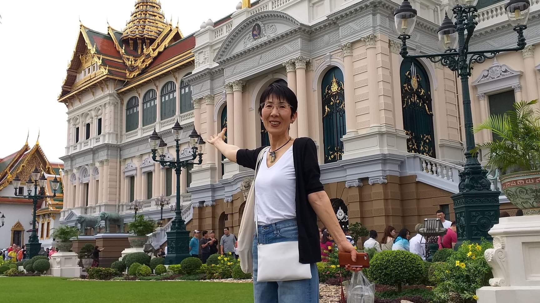 An old moman went on a trip to Thailand alone ! ,,, ISAKOのひとりごと1