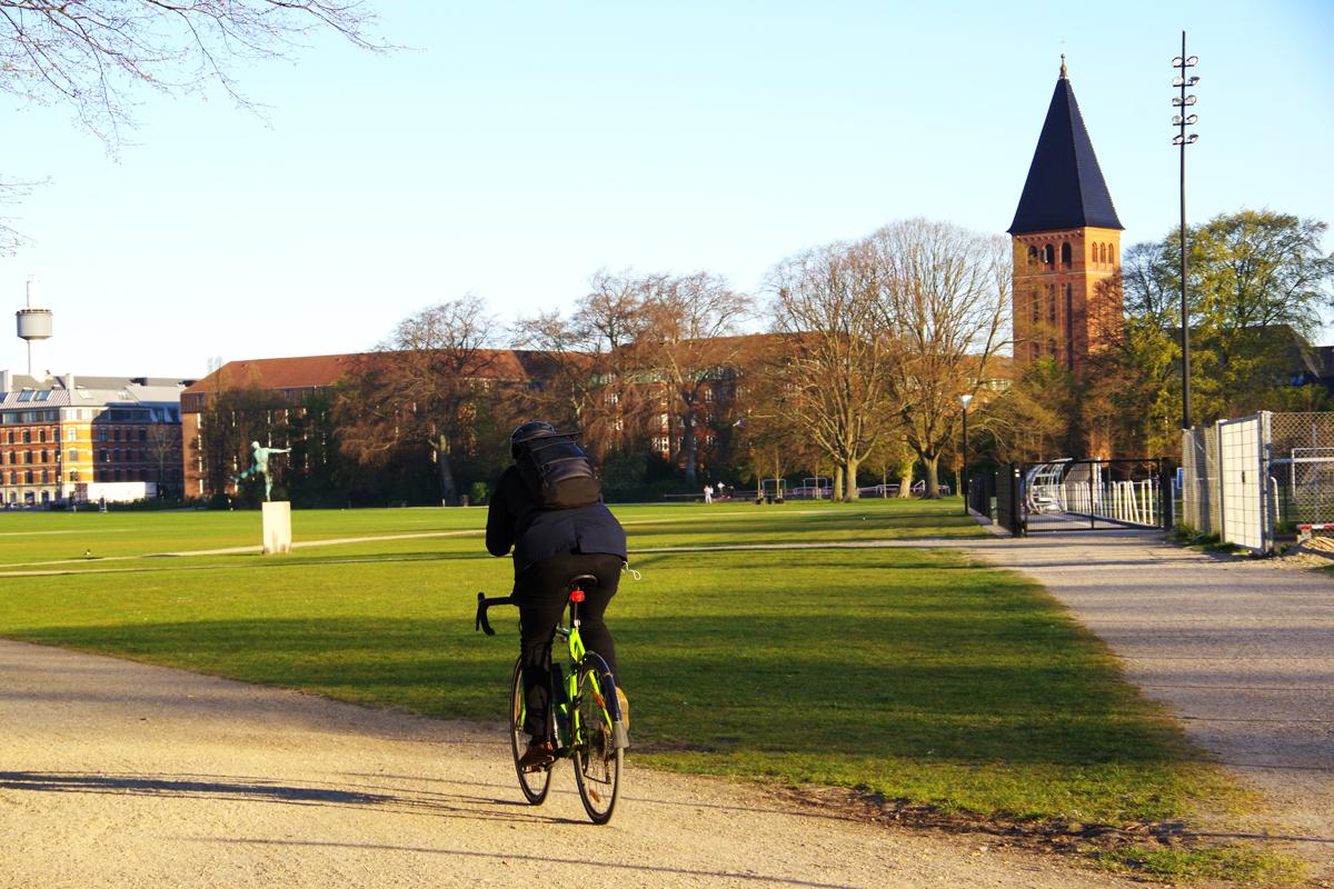 コペンハーゲンのロックダウンの様子