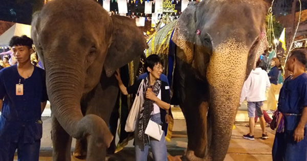 An old moman went on a trip to Thailand alone ! ,,, ISAKOのひとりごと5