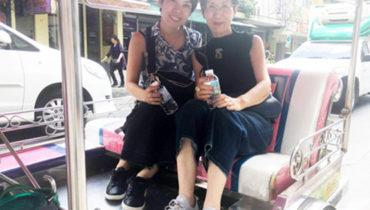 大人になってもワクワクしたい!タイ・バンコクへの旅③トゥクトゥクでワクワク。