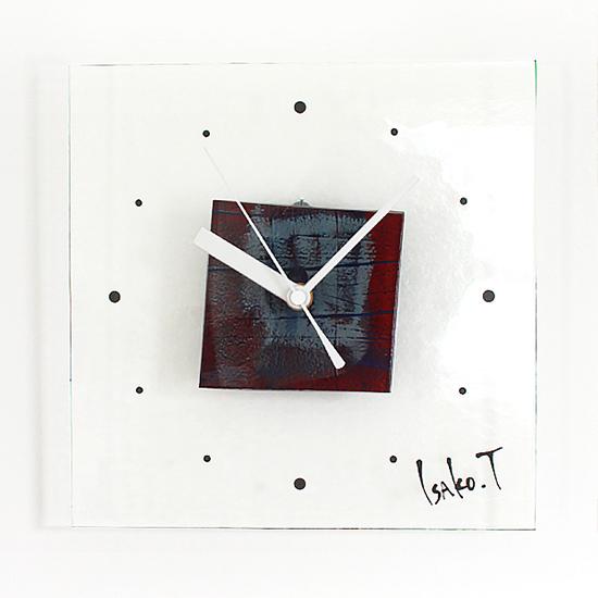三重県津市ガラス時計